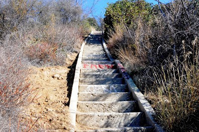 DSC 5866 Stairs To Murphy Ranch Hike Rustic Canyon