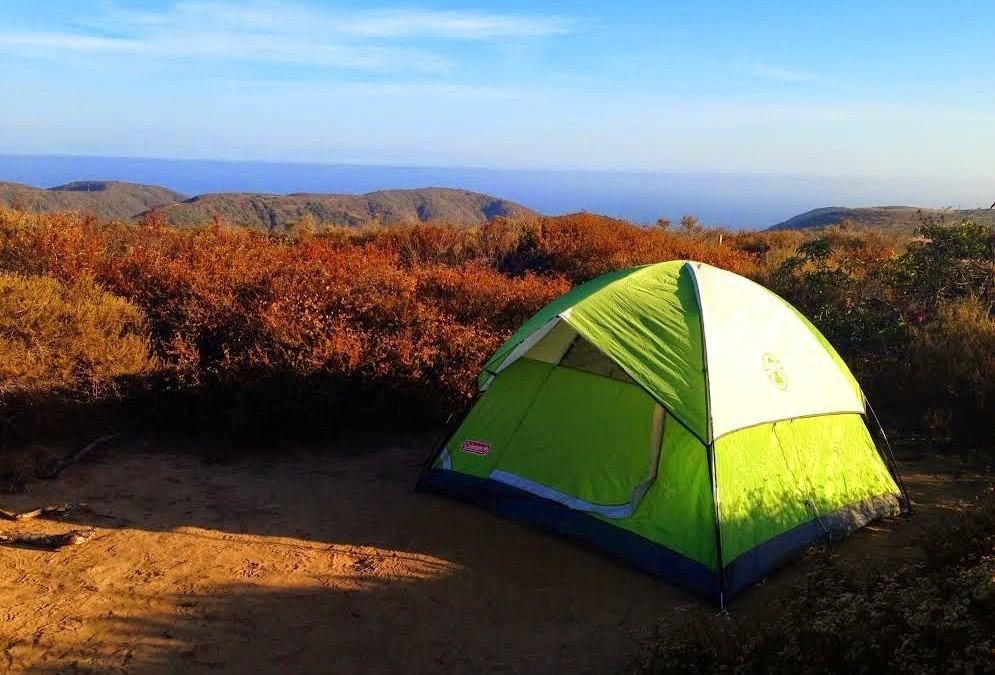 Crystal Cove Backpacking – Orange County Camping
