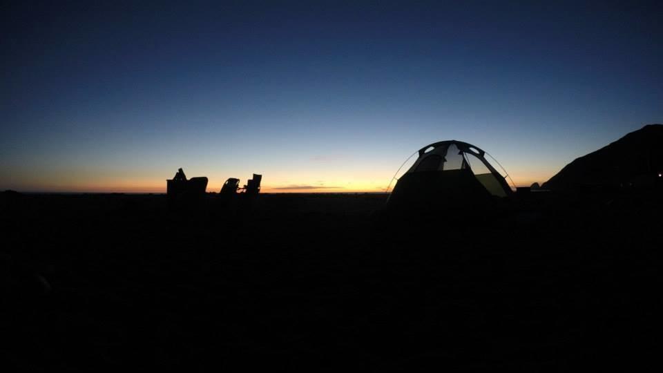 Malibu Beach Camping & Hiking