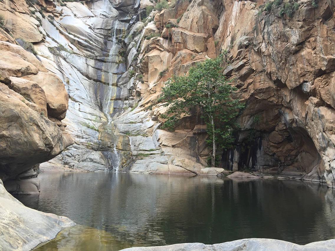 Cedar Creek Falls San Diego Waterfall Hiking Trail