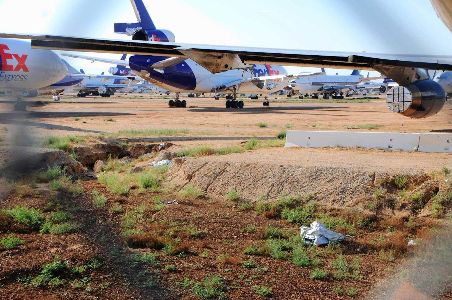 airplane graveyard hike