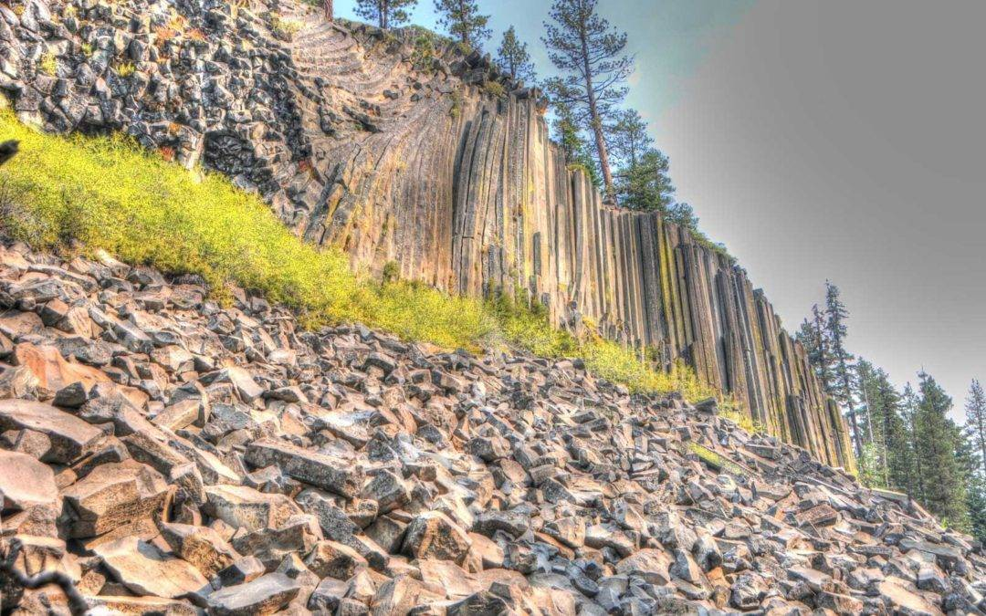 devils post pile, mammoth hiking trails, mammoth hikes, mammoth hiking trails, devils postpile