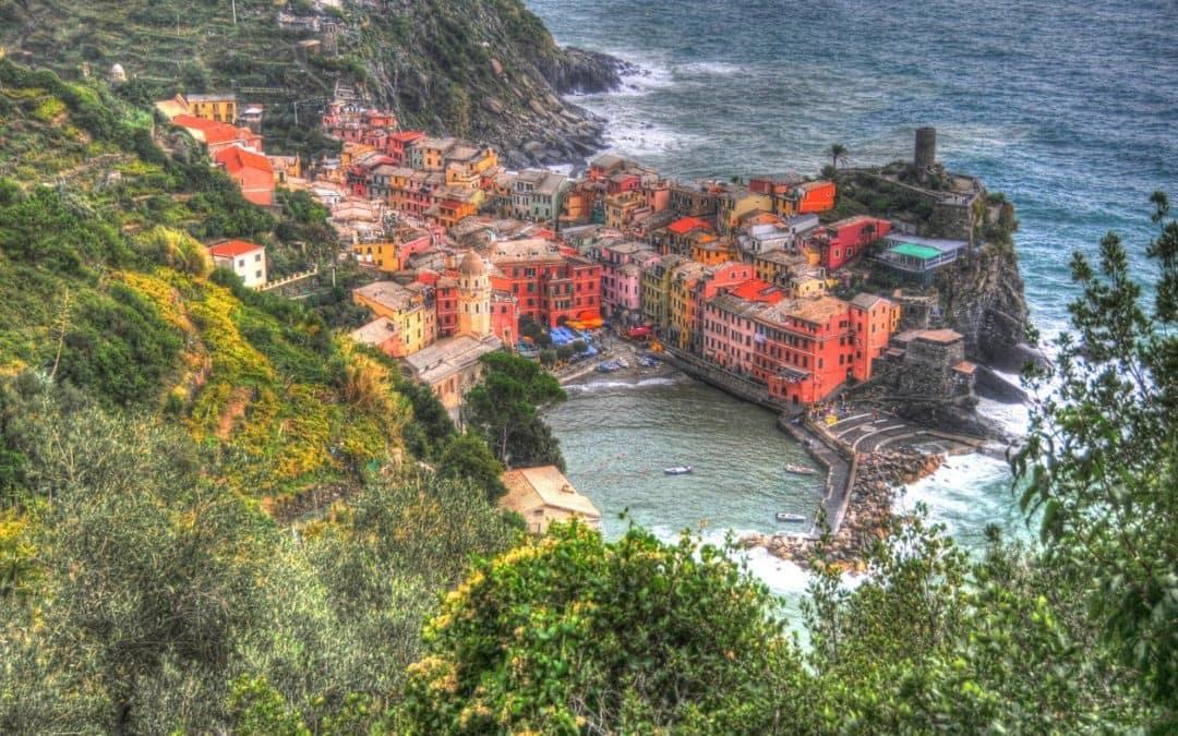 Cinque Terre Hike   Italia Hiking Trail