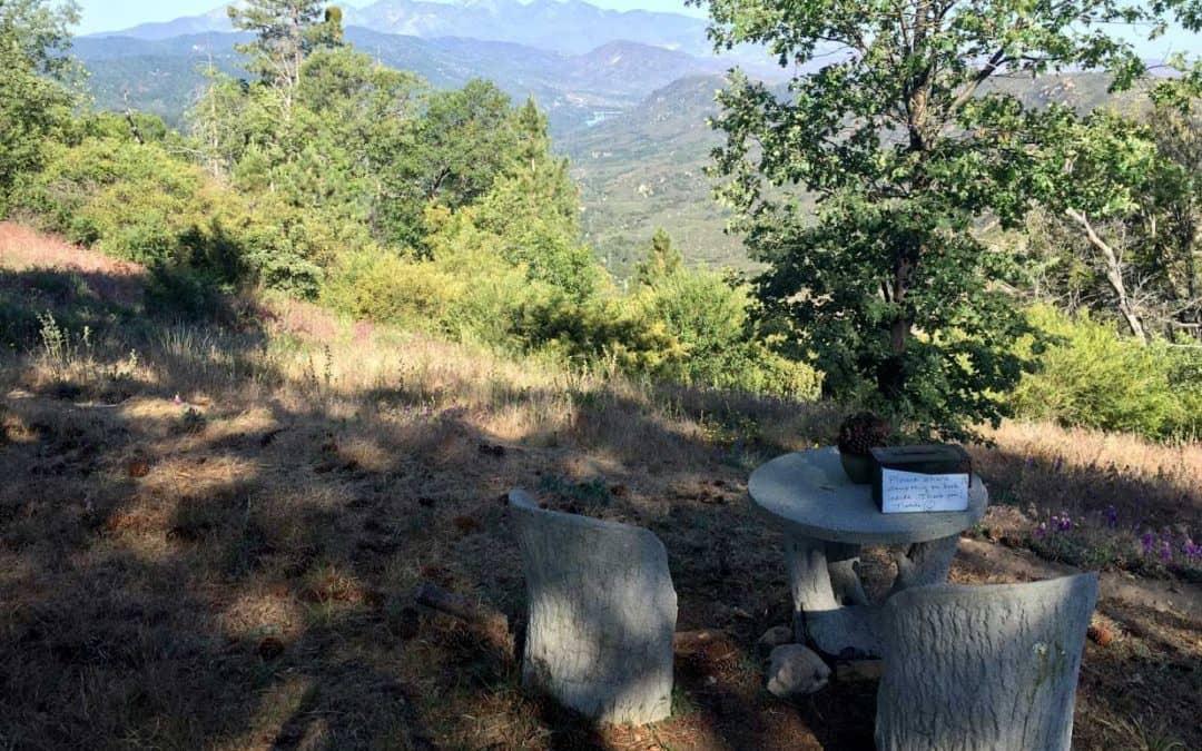 Lake Arrowhead Hiking Trail   Hidden Bench Trail