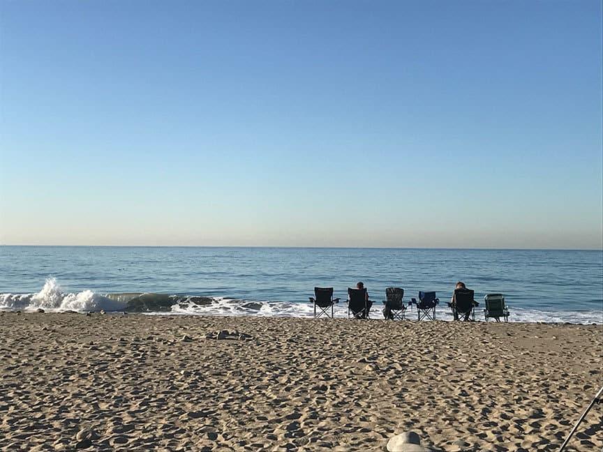 Dog Park Malibu Beach