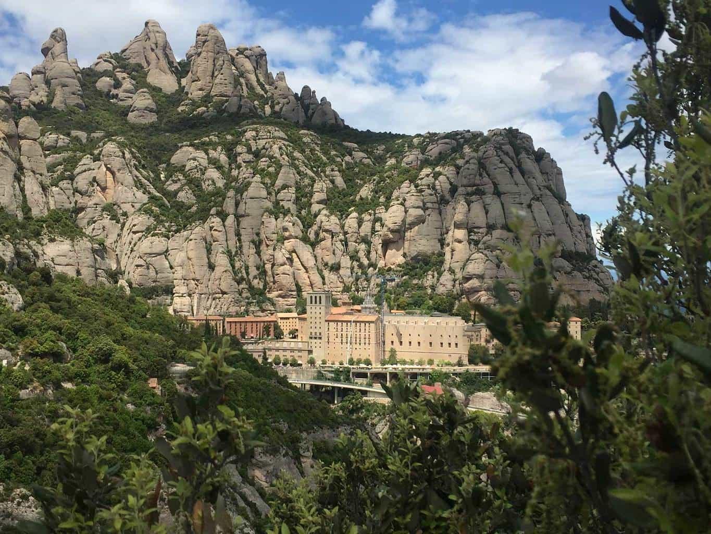 Carte Barcelone Montserrat.Montserrat Hiking Options Spain Hiking Tours Maps Guides