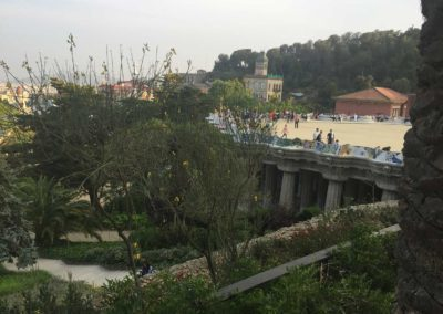 park-guell-gaudi-barcelona-spain-easy-hiking-trail-2