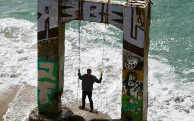 Davenport Pier Swing | Unique Santa Cruz Area Hiking Trail | Cool Photo Spot