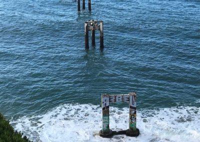 davenport pier, davenport swing, davenport pier swing, where is the davenport swing, ashley tiner, sean tiner, go hike it, santa cruz hike, santa cruz hiking trail, best santa cruz hikes
